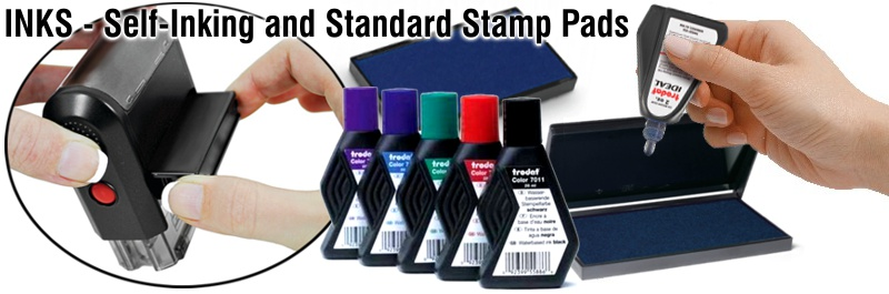 Ink specific to Self-Inking stamps and daters. Easily extend the life of pads in your self-inking stamp by re-inking them.