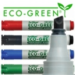Artline EK-199 ECO-GREEN Permanent Marker - Chisel Tip