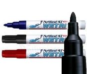 Artline EK-47 Wetrite Markers 1.5mm Bullet Tip